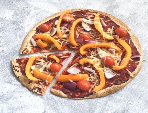 Snelle wrap pizza